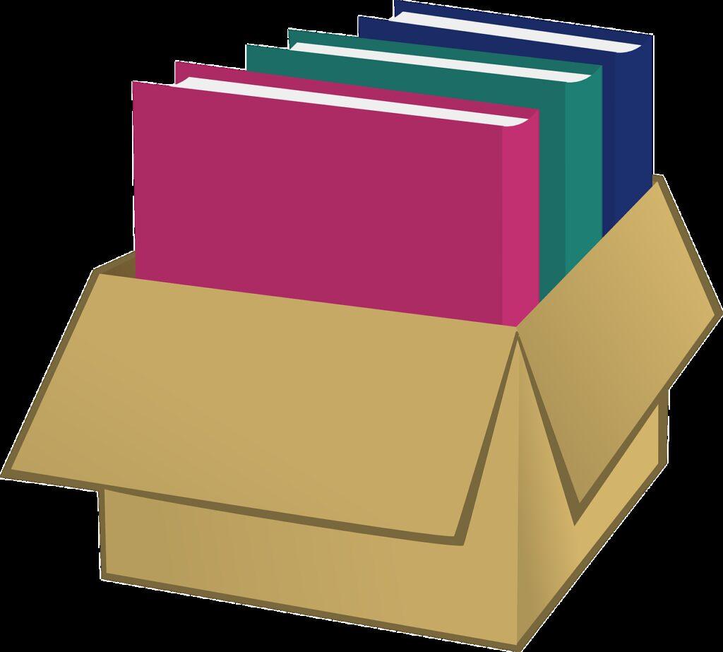 box, storage, file