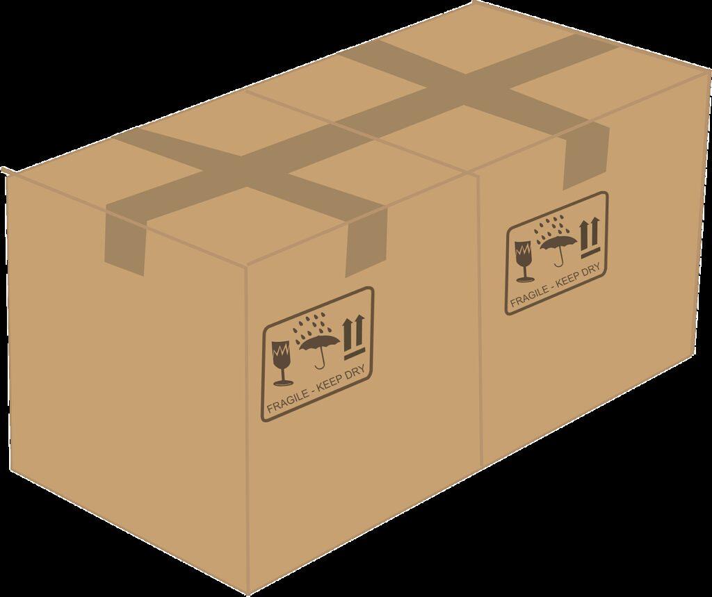 cardboard box, cardboard, box