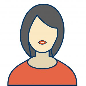 Female Avatar Sign Icon Vector Illustration For Personal And Commercial Use... Clean Look Trendy Icon...